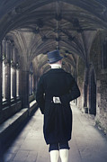 Man Photo Prints - Period Gentleman Print by Joana Kruse