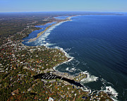 Ogunquit Prints - Perkins Cove, Ogunquit Beach, Ogunquit Print by Dave Cleaveland