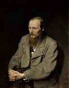 1833 Art - Perov, Vasily 1833-1882. Portrait by Everett
