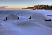 Winter Photos Prints - Perry Bay Print by Jakub Sisak