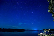 Perseid Photo Prints - Perseid Meteor Print by Charles Hite