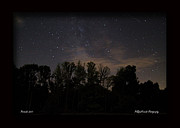 Perseid Art - Perseid Meteor in Milky Way by PJQandFriends Photography