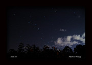 Perseid Meteor Prints - Perseids Big Dipper Print by PJQ And Friends