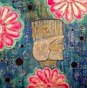 Persia Paintings - Persepolis in Bloom by Katy Shahandeh