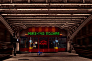 Pershing Photos - Pershing Square Cafe by Susan Candelario