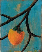 Persimmon Paintings - Persimmon by Naomi Ball