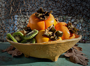 Sour Art - Persimmons by Gwyn Newcombe