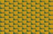 Op Art Digital Art Posters - Perspective Compilation 4 Poster by Michelle Calkins