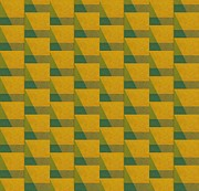 Op Art Posters - Perspective Compilation 6 Poster by Michelle Calkins