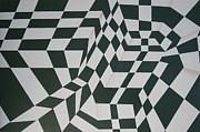 Perspective Confusion Print by Leana De Villiers