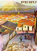 REPRODUCTION - Peru Travel Poster