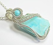 Heather Jordan - Peruvian Blue Opal and...