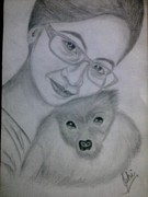Syeda Ishrat Art - Pet Lover by Syeda Ishrat