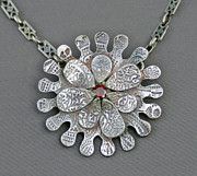 Sterling Silver Jewelry - Petal to the Metal by Mirinda Kossoff