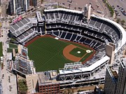San Diego Padres Stadium Photo Framed Prints - Petco Ball Park Framed Print by Mountain Dreams