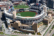 San Diego Padres Stadium Photo Framed Prints - Petco Park San Diego CA Framed Print by Bill Cobb