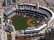 Petco Park Photo Framed Prints - Petco Park San Diego Framed Print by John Vito Figorito