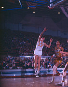 Pete Maravich Shot From The Corner Print by Retro Images Archive