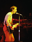 Concert Photos Art - Pete Townsend of The Who at Oakland CA 1980 by Daniel Larsen
