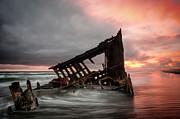 Brian Bonham - Peter Iredale Sunset