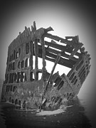 Neurotic Images Photography Prints - Peter Iredale with Vignetting Print by Chalet Roome-Rigdon