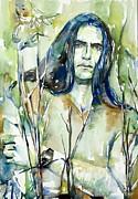 Peter Steele Portrait.1 Print by Fabrizio Cassetta