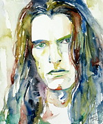 Vocalist Painting Framed Prints - Peter Steele Portrait.4 Framed Print by Fabrizio Cassetta