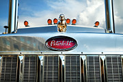 Theresa Leigh Photography Posters - Peterbilt Poster by Theresa Tahara