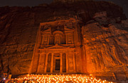 Petra Originals - Petra By Night by Yves Gagnon