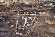 Best Sellers Prints - Petroglyph Print by Melany Sarafis