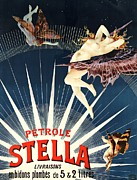 Cans Paintings - Petrole Stella by Pg Reproductions