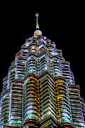 Tower Digital Art - Petronas Tower by Adrian Evans