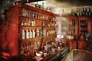 Pharmacist - Behind The Scenes  Print by Mike Savad
