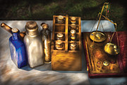 Physician Art - Pharmacist - Field Medicine by Mike Savad