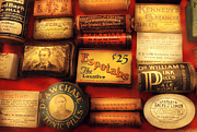Pill Metal Prints - Pharmacist - The Druggist Metal Print by Mike Savad