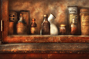 Apothecaries Posters - Pharmacy -  Need a Laxative Poster by Mike Savad