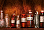 Pharmacy - Pharmacist's Fancy Fluids Print by Mike Savad