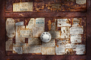 Drawers Metal Prints - Pharmacy - Signs of the time  Metal Print by Mike Savad