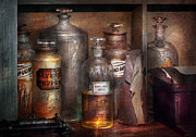 Apothecary Prints - Pharmacy - Thats the Spirit Print by Mike Savad
