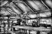 Gray Art - Pharmacy - WWII - Camp Sibert - Station hospital lab by Mike Savad