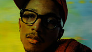 Pharrell Williams Print by Marvin Blaine