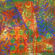 Vibrant Color Mixed Media - Phase series - Next by Moon Stumpp