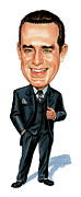Caricature Paintings - Phil Hartman by Art