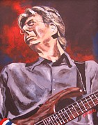 Famous Musicians Painting Originals - Phil Lesh TWO by Kevin J Cooper Artwork