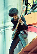 Concerts Prints - Phil Lynott of Thin Lizzy-B.R. Tour/Special Price for 1st 5/ Day on the Green 4-7-79 Personal Color  Print by Daniel Larsen