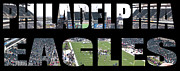 Linc Prints - Philadelpha Eagles Print by Gallery Three