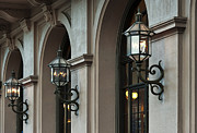 Gas Lamps Prints - Philadelphia Academy of Music Print by John Greim