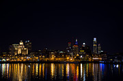 Phila Digital Art Posters - Philadelphia - Bright Lights Big City Poster by Bill Cannon