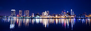 Delaware River Prints - Philadelphia By Night Print by Bill Cannon