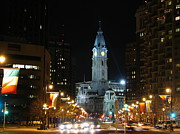 Philadelphia City Hall Framed Prints - Philadelphia City Hall Framed Print by Christopher Woods